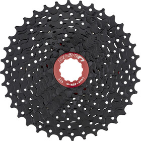 SunRace CSMX0 Kassett 10-speed Svart